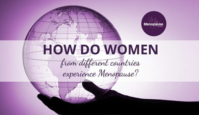 How do women from different countries experience menopause?
