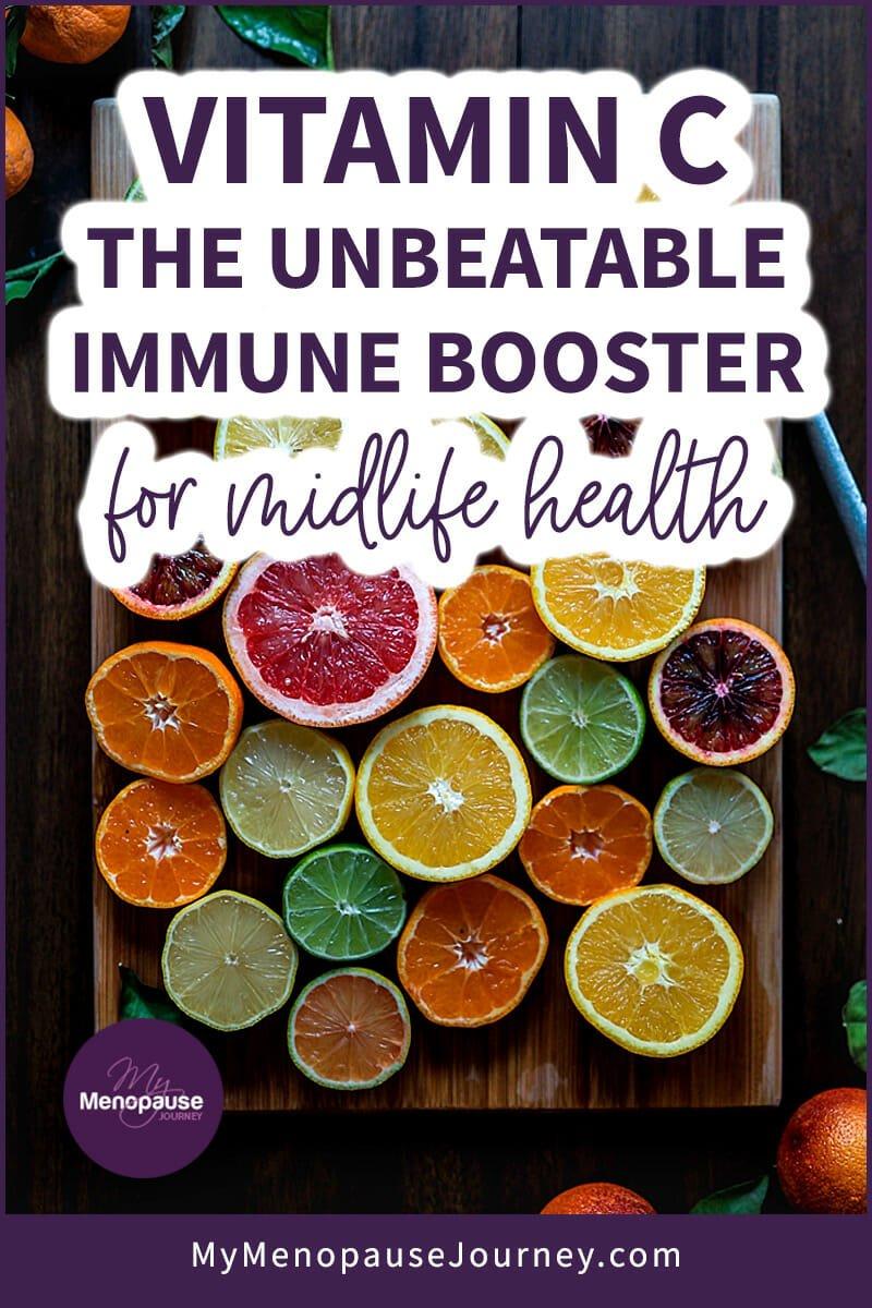 VITAMIN C: The UNBEATABLE Immune Booster for Midlife Health