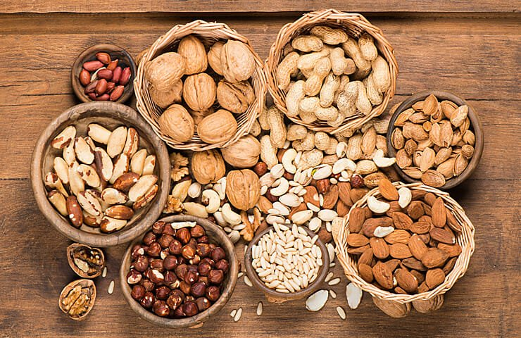 Best Types of Nuts for Health and Menopause