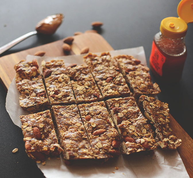 5 ingredient granola bar