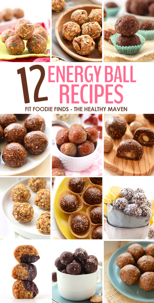 The Healthy Maven - Healthy Energy Ball Recipes