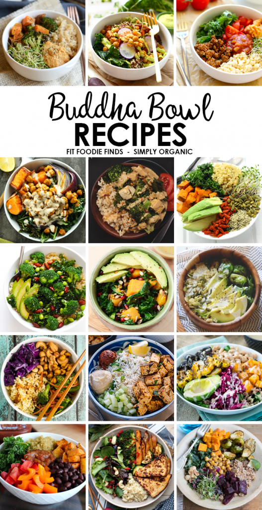 Healthy Buddha Bowl recipes