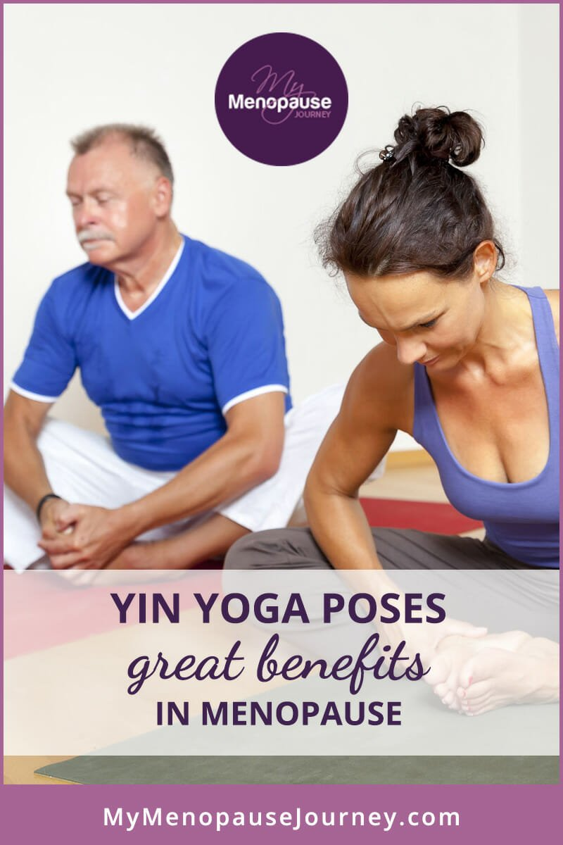 Yin Yoga poses great benefits in Menopause