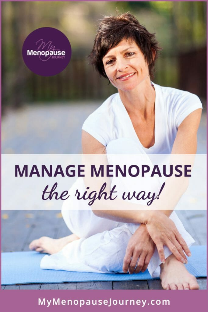 MAnage Menopause the right way