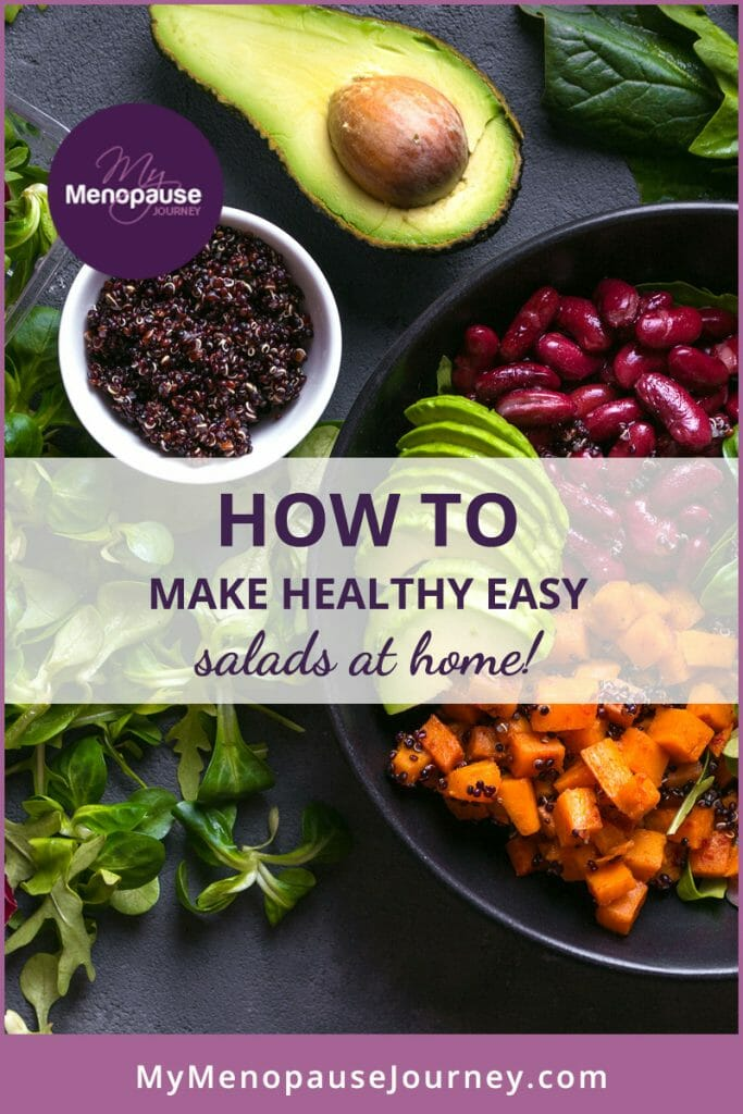 Healthy, easy salads to eat at home