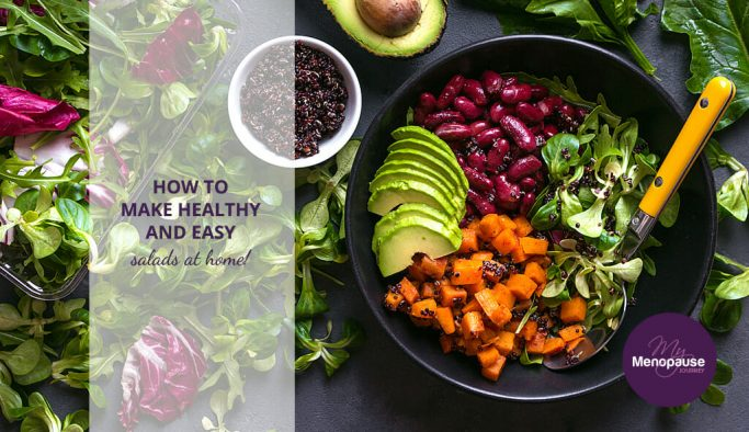 Healthy, easy salads to make at home