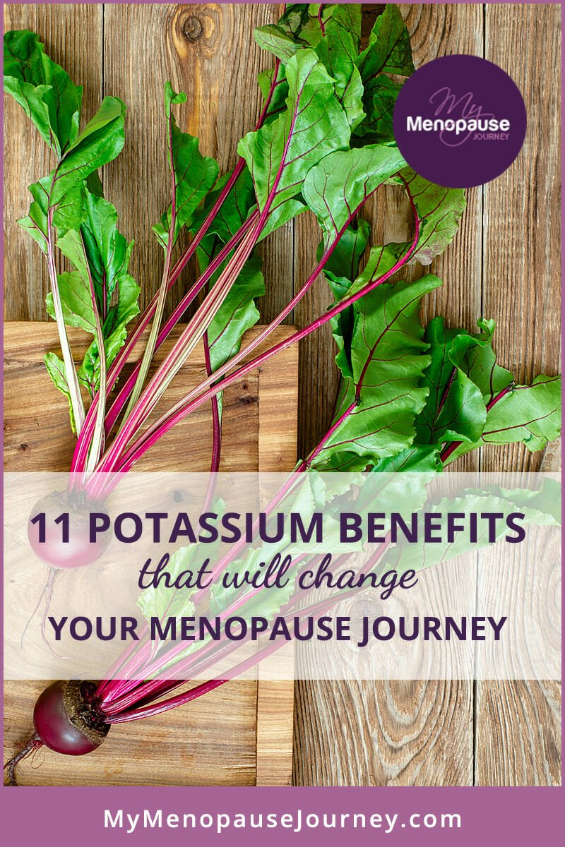 11 potassium benefits in Menopause