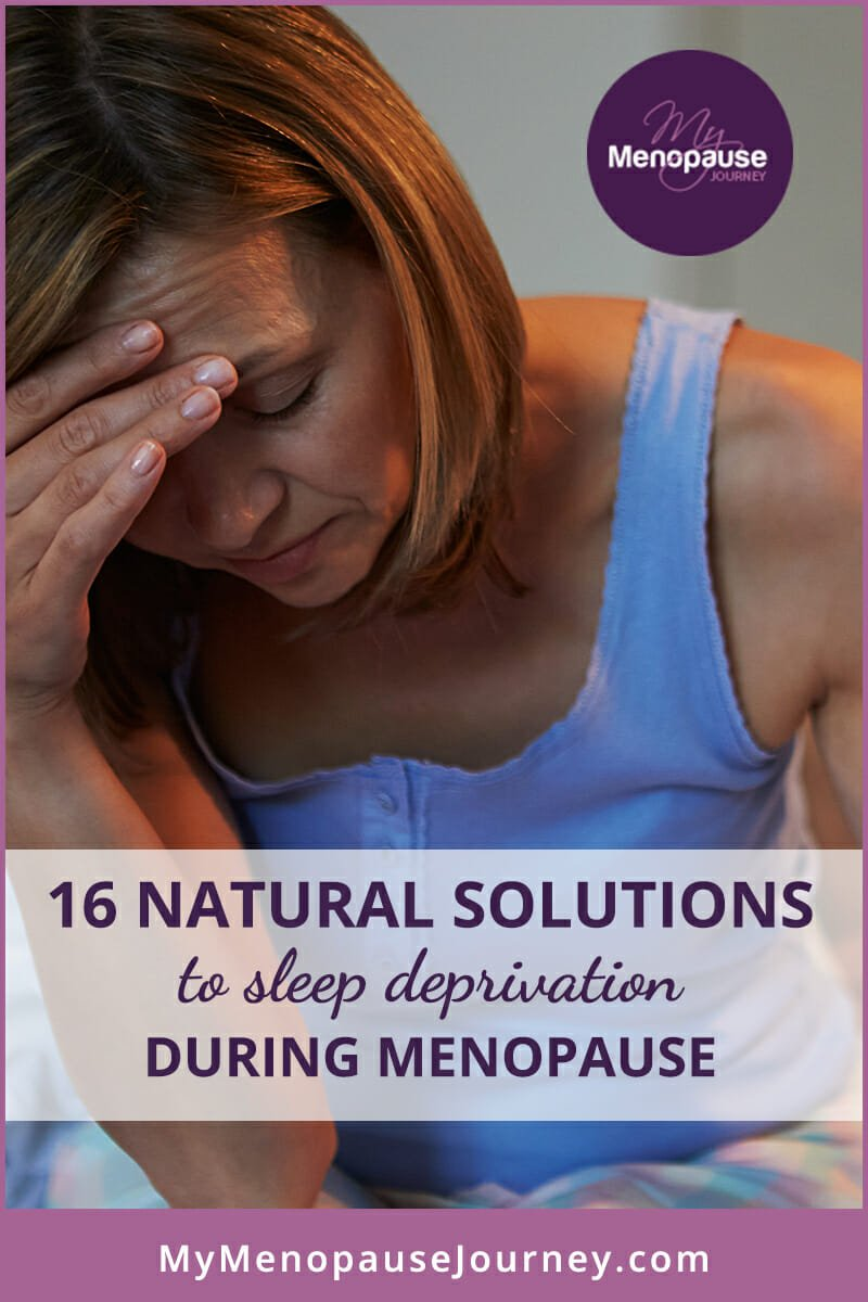 16 Natural Solutions to Sleep Deprivation in Menopause