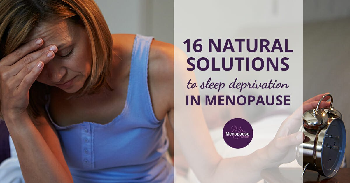 16 Natural Solutions for Sleep Deprivation During Menopause