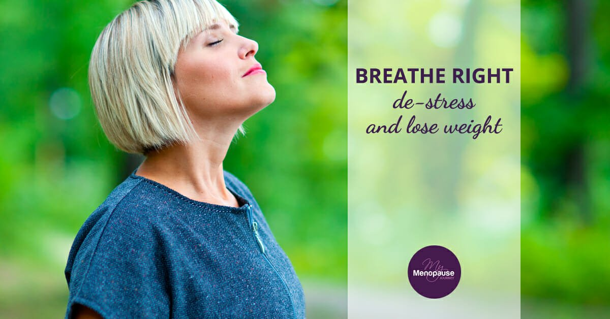 Good Breathing Technique to Lose Weight and Reduce Stress!