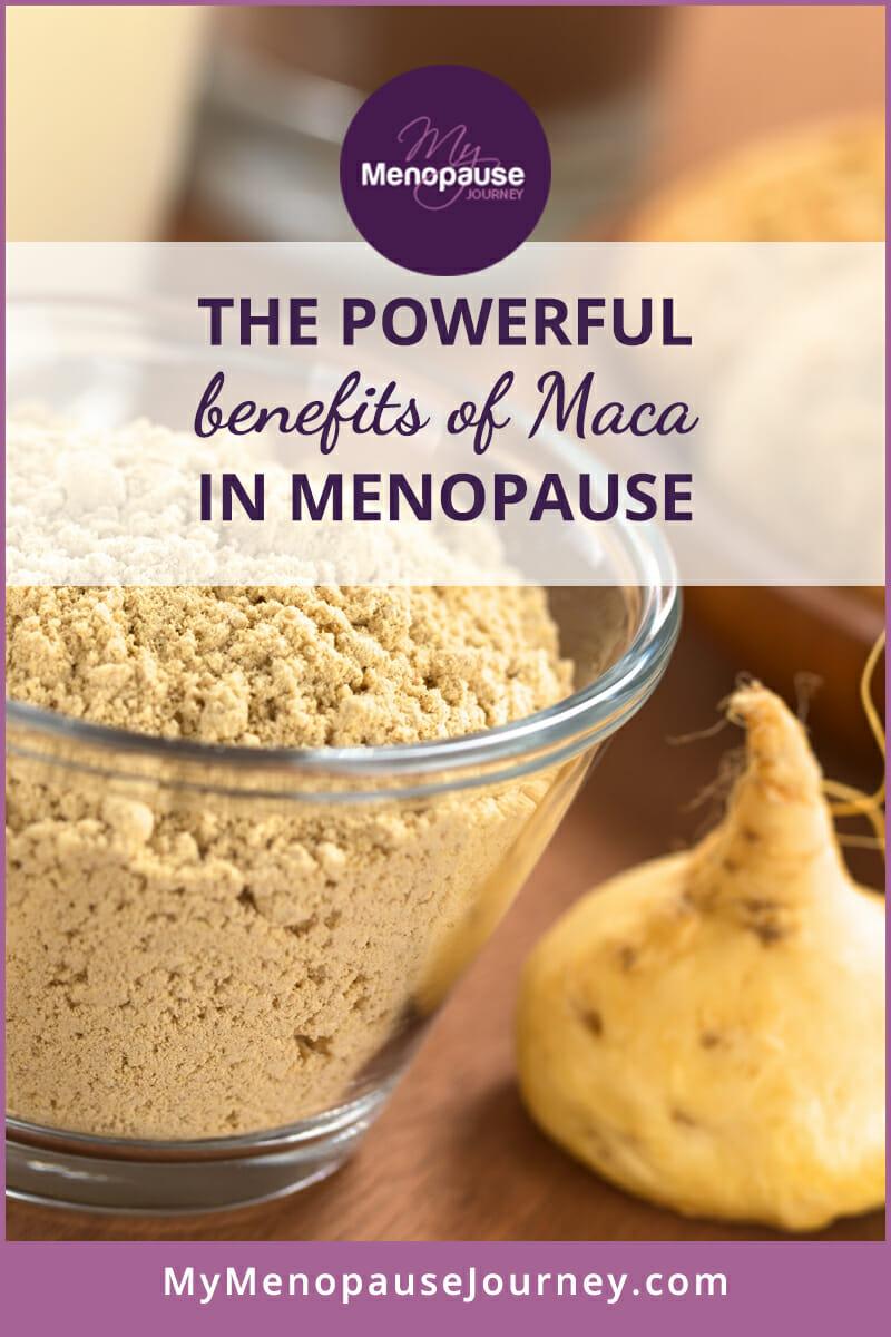 Maca - Powerful Benefits in Menopause