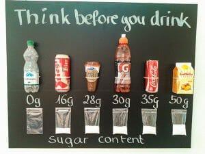 Sugar in your drink