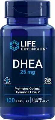 Life Extensions DHEA - promotes optimal hormonal balance
